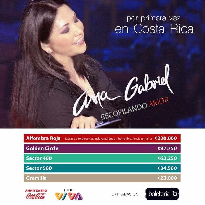 2- Ana Gabriel en CONCIERTO