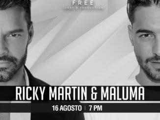 Ricky Martin y Maluma
